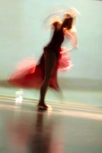 Stéphanie Fromentin. Création Dans (e) l'eau. Photo : Chrissy Cheung