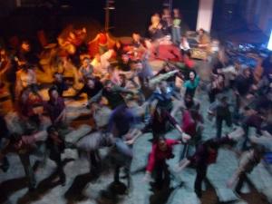 Le Bal Moderne de la 2ème Porte à Gauche. La philo-danse est à l'honneur cette année, à la Grande Bibliothèque.